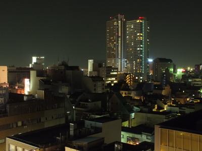11階スカイルームは夜景の眺望が自慢!!