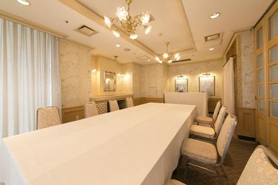 2階の個室「サンフランシスコ」 8名様~12名様までご利用いただけます。