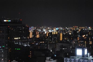 <夜景> チャイナテーブルは新大阪ワシントンホテルプラザ 最上階23階にございます