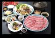 上州黒毛和牛と秋野菜の しゃぶしゃぶコース 【web予約で5%割引】