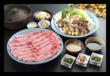 上州和牛と秋野菜のしゃぶしゃぶ 【web予約で5%割引】
