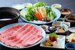 国産牛と野菜の しゃぶしゃぶコース 【web予約で5%割引】