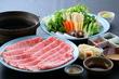 上州和牛と野菜のしゃぶしゃぶ 【web予約で5%割引】