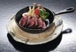 鳥取和牛のステーキ 特製ソース