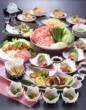 集う仲間とお気軽にわいわい!!  同窓会大皿料理コース