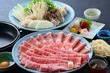 上州黒毛和牛と榛名もち豚の食べくらべ すき焼き 飲み放題付 9,000円コース