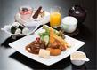 お子様御膳(オレンジジュース、デザート、おもちゃ付)