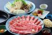 国産牛と榛名もち豚の食べくらべ すき焼き 飲み放題付 6,000円コース