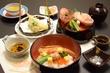 お造りと天ぷらの丼御膳