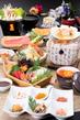 北海道 極(きわみ)会席+飲み放題 12,800円コース 3日前までのご予約メニュー