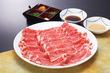 味彩牛と季節野菜のしゃぶしゃぶコース
