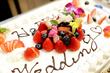 ケーキ入刀からファーストバイト♪ 『ウェディングケーキ』