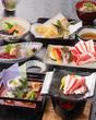 【ディナー】夏の味覚会席「朝顔(あさがお)」(全8品)宴会プラン(7/1~8/31)