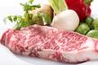 国産牛サーロインのステーキ