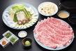 上州和牛と夏野菜のしゃぶしゃぶ 【web予約で5%割引】