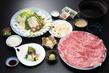 上州和牛と夏野菜の しゃぶしゃぶコース 【web予約で5%割引】