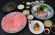 上州黒毛和牛と冬野菜のしゃぶしゃぶコース 【web予約で5%割引】
