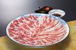 鹿児島県産・黒豚と季節野菜のしゃぶしゃぶ