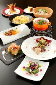 写真は「Bプラン」 形式:大皿料理orビュッフェ
