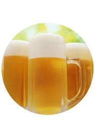 まず始めは生ビールで乾杯! サッポロ樽生【中 480ml】 660円(税込712円)