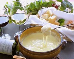 ◆チーズフォンデュ◆ おかげさまで人気No1。