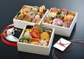 和洋三段重 おせち料理 6寸(3~4人前) 25,300円(配送料・税込)