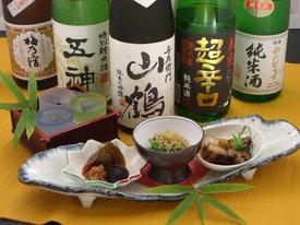 奈良の地酒を豊富にご用意致しております。