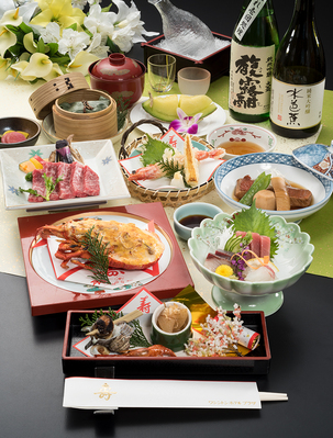 【お祝い料理】花扇会席(はなおおぎ) お顔合、長寿、記念日、誕生日等のお祝いのお席へ!