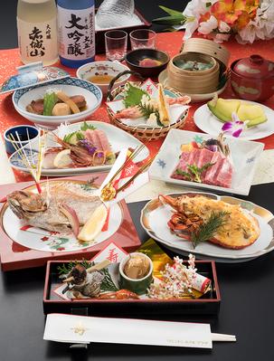 【お祝い料理】高砂会席(たかさご) お顔合、長寿、記念日、誕生日等のお祝いのお席へ!