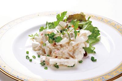 ◆カニと大根のサラダ リピート率NO.1!!一度食べたらまた食べたくなる!!