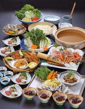 大皿コース(4名様より) 各種ご宴会・お集まりにどうぞ。