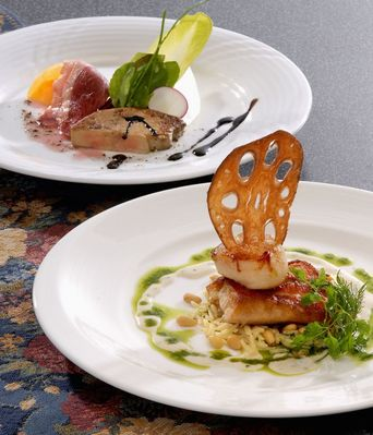 当店自慢のメニュー 『キャンドルセット』2,700円 ※お魚料理、お肉料理の どちらかをお選び頂きます!
