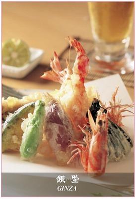 揚げたての天ぷらなど・・・
